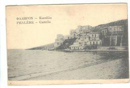 CPA Grèce Greece PHALERE Castella Maisons 1919 - Griechenland