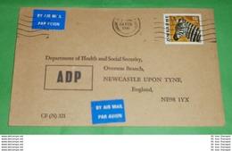 SIMBABWE - Brief Letter Lettre 信 Lettera Carta пи�?ьмо Brev 手紙 จดหมาย Cover Envelope (2 Foto)(34592) - Zimbabwe (1980-...)