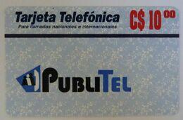 Nicaragua - Remote Memory - Publitel - Blue Background - C$10.00 - Mint - Nicaragua