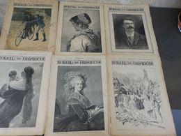 LOT DE 30 JOURNAUX LE PETIT JOURNAL 1900/01 ET  LE SOLEIL DU DIMANCHE 1893 - Giornali