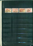 LESOTHO ANIMAUX PREHISTORIQUES II 4 VAL NEUFS A PARTIR DE 0.90 EUROS - Lesotho (1966-...)