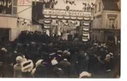 Hommage à Maurice Berteaux ,homme Politique Décapité Accidentel.par Une Aile D'avion En 1911 à Issy Les Moulineaux-carte - Issy Les Moulineaux