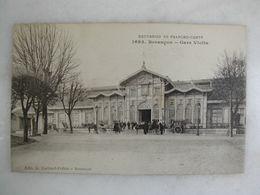 FERROVIAIRE - Gare - BESANCON - Gare Viotte (animée) - Gares - Sans Trains
