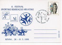Croatia, Voleyball, Tennis, Aerobic,Festival Of Sport Recreation - Altri