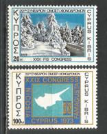 Cyprus 1973 Year, Mint Stamps MNH (**) Set - Chypre (République)