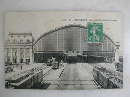 FERROVIAIRE - Gare - BORDEAUX - Gare Du Midi - Gares - Avec Trains