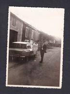 Photo Originale Vintage Snapshot Oldtimer Car Citroen AMI Voiture Automobile Immatriculée En 75 Village à Situer - Automobiles