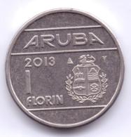 ARUBA 2013: 1 Florin, KM 5 - [ 4] Colonies