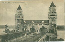 Köln; Hohenzollernbrücke - Nicht Gelaufen. (Heiss & Co. - Köln) - Koeln