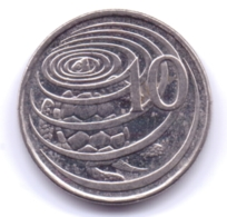CAYMAN ISLANDS 2005: 10 Cents, KM 133 - Cayman Islands