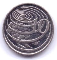 CAYMAN ISLANDS 2002: 10 Cents, KM 133 - Cayman Islands