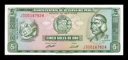 Peru 5 Soles De Oro 15.08.1974 Pick 99c SC UNC - Perù