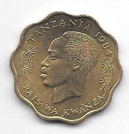 Tanzania 10 Senti 1984  Km 11   Unc/ms63 - Tanzanía
