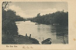 Rio Cau Cau Undivided Back Before 1903 - Chile