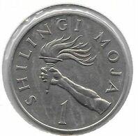 *tanzania 1 Shilling 1975  Km 4 - Tanzanía