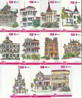 11 X Thailand Phonecard 12Call - Ancient Architecture For Thai Building - Thaïlande