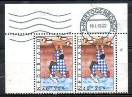 PAYS-BAS. N°1080 De 1977 Oblitéré. Risque De Noyade. - First Aid