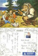 Norway 2003 Card With Trolls / Nisser Cancelled In Nisseland   8.7.03 - Norwegen