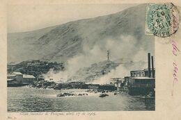 Gran Incendio De Pisagua Abril 17 De 1905 - Chile