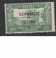 WALLIS ET FUTUNA        N°  YVERT  51  NEUF AVEC CHARNIERES      ( CHAR   03/56 ) - Wallis And Futuna