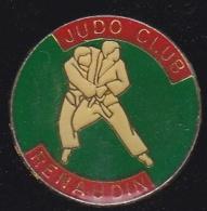 66328-Pin's.Judo-Club Renaudin, à Château-Renault. - Judo