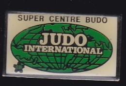 66330-Pin's.Judo-international Super Centre Budo à Paris 5eme - Judo
