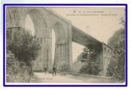 25476  CPA   Environs De CHAMPAGNOLE  : Viaduc De Syam !! Pont Ferrovière - Petite Animation !! - Champagnole