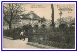 25486  CPA PARIS  : La Chapelle Expiatoire !! ACHAT DIRECT !! - Arrondissement: 08
