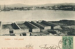 Caldera Vista General  . Edit Carlos Brandt Valparaiso  Used Iquique To Graçay Cher France Marguerite Boelle - Chile
