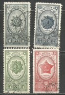 Russia USSR 1944 Year, Used Stamps Set Mi.# 905-908 - 1923-1991 USSR