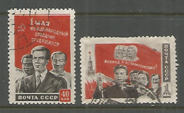 Russia USSR 1950 Year, Used Stamps Set  Mi.# 1461-62 - 1923-1991 USSR