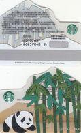 Starbucks China 2020 Bamboo Panda Gift Card RMB100 - Altre Collezioni