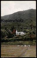 ALTE POSTKARTE SUMATRA TOBALAND RHEINISCHE MISSION MISSIONSKIRCHE Toba-Batak Indonesia Indonesien Ansichtskarte Postcard - Indonesien