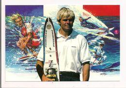 Patrice Martin Sportif De Haut Niveau Du Groupe Primagaz - Champion Du Monde De Ski Nautique - - Ski Náutico