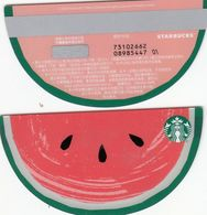Starbucks China 2020 Watermelon Gift Card RMB100 - Altre Collezioni