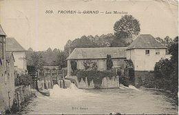 X122443 SOMME FROHEN LE GRAND LES MOULINS A EAU - Francia