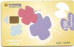 Bosnia (Serb Republic)  . Chip Card 150 UNITS - Bosnie