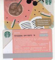 Starbucks China 2020  A Long Summer  Gift Card RMB100 - Altre Collezioni