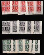 FRANCE - COINS DATÉS TYPE MERCURE - Version République Et Postes Avec Nombreuses Mentions De Contrôle - 1930-1939