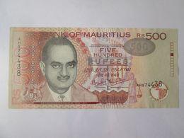 Mauritius 500 Rupees 2001 Banknote AUNC - Mauritius