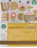 Starbucks China 2020  Summer Fun Gift Card RMB100 - Altre Collezioni