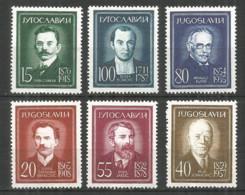 Yugoslavia 1960 Year, Mint Stamps MNH(**) - 1945-1992 République Fédérative Populaire De Yougoslavie