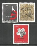 Yugoslavia 1969 Year, Mint Stamps MNH(**) - 1945-1992 République Fédérative Populaire De Yougoslavie