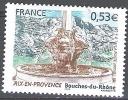 France 2005 Yvert 3777 Neuf ** Cote (2015) 1.25 Euro Aix-en-Provence Fontaine Quatre-Dauphins Montagne Sainte-Victoire - France