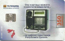 Bosnia (Serb Republic)  1999. NEKTAR BEER Chip Card 350 UNITS 25.000 - 06/99 - Bosnie