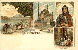 EGYPTE - Carte Postale - Souvenir D'Egypte - L 66177 - Egypt