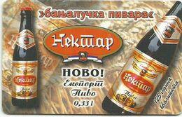 Bosnia (Serb Republic)  1999. NEKTAR BEER Chip Card 350 UNITS 60.000 - 12/99 - Bosnie