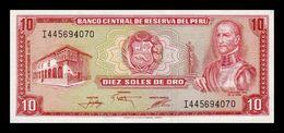 Peru 10 Soles De Oro 1976 Pick 112 SC UNC - Perù