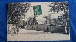 CPA MANOSQUE 04 BASSES ALPES REMPARTS DU TERREAU  ANIMATION ED M C 1918 - Manosque