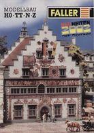 CatalogueFALLER 2002 Neuheiten HO TT N Z- En Allemand, Anglais Et Français - Libri E Riviste